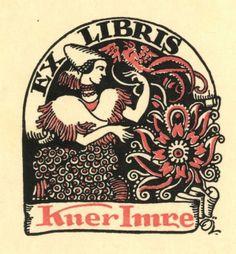 Ex-libris (bookplate) - Imre Kner-1914 г.