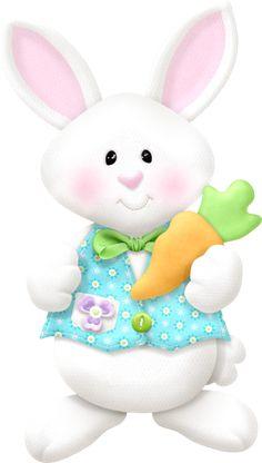 Clipart de Preciosidades de Pascua.