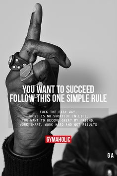 You Want To Succeed, Follow This One Simple Rule #fitness #inspiration #motivation #fitspiration #health #weightlosstips