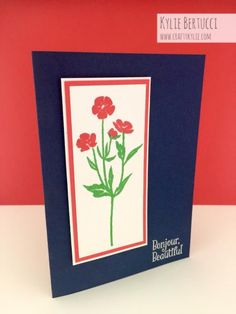 Wild About Flowers by Kylie Bertucci by cards by Kylie-Jo - Cards and Paper Crafts at Splitcoaststampers