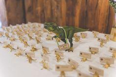 Robot & Dinosaur Wedding on a Farm