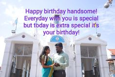 Happy Birthday Wishes For Him, Birthday Wish For Husband, Husband And Wife Love, You Are Special, Life Partners, Better Half, You Are Perfect, Motivation, Birthday Quotes
