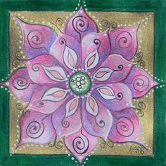 Third Flower Painting  - Thrid Flower Fine Art Print