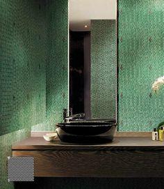 QUATTRO Verde Smeraldo Particolare lavabo