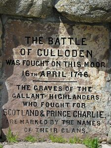 The Inscription - The Battle of Culloden