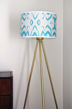 A diy to make your own wooden tripod floor lamp with a veneer some like a project diy tripod floor lamp aloadofball Image collections