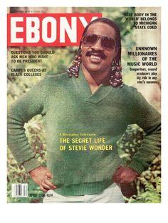 Historic Ebony Magazine Covers