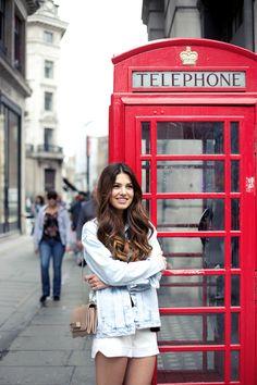 London-look: Nudes & Light-Denim   Negin Mirsalehi