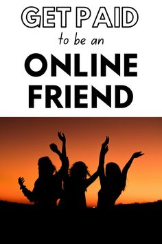Are you a friendly kind of person? Thought so! Would you like to get paid to chat online? GET PAID TO BE AN ONLINE FRIEND (AND MAKE $20-$50+ PER HOUR!) get paid to be an online friend   make money as an online friend   get paid to be an online companion   get paid to be an online friend uk   get paid to be a virtual friend uk   virtual friend jobs   get paid to be a friend uk   rent a virtual friend   get paid to talk to lonely people   make money online   rent a friend online Earn Extra Cash, Making Extra Cash, Make Money Fast, Make Money Online, Online Friends, Quitting Your Job, Be Your Own Boss, Work From Home Jobs, Personal Finance