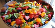I love the colors and flavors in this super healthy salad. As soon as you see it you know it's good for you!