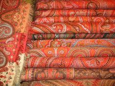 Shawls Indo French different size
