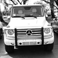 I'm saving my money for a white G Wagon!!! My new business venture should help! :):):):):):)