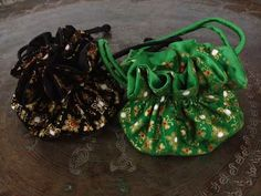 Jewelry Pouch by Lotus Wonders #Pinspiration #letscelebrate #love #canada #toronto #holidaygifts #black #gold #green #fashion #style