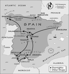 Itinerary: Where to Go in Spain by Rick Steves Spain And Portugal, Portugal Travel, Spain Travel, Portugal Trip, Croatia Travel, Italy Travel, Time Travel, Places To Travel, Travel Destinations