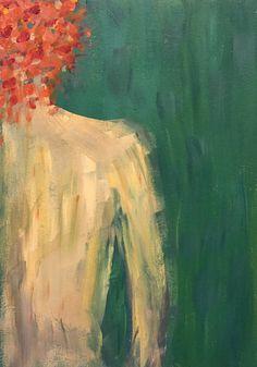 صبا گلباز اكرليك روى بوم  by Saba Golbaz Acrylic on canvas