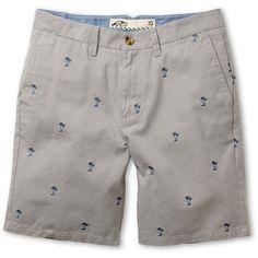 @Vans Dewitt Grey Palm Monogram Shorts   #zumiez