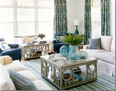 coastal inspired decor | Coastal & Beach - What's Your Interior Design Style? | Terrys Fabrics ...