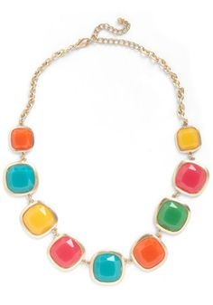 Candy!            Cast But Not Least Necklace, #ModCloth