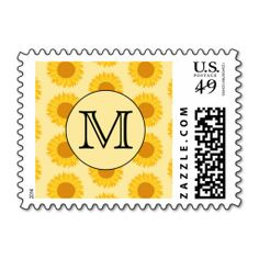 $$$ This is great for          	Custom Monogram, with Yellow Sunflowers. Postage           	Custom Monogram, with Yellow Sunflowers. Postage in each seller & make purchase online for cheap. Choose the best price and best promotion as you thing Secure Checkout you can trust Buy bestThis Deals   ...Cleck Hot Deals >>> http://www.zazzle.com/custom_monogram_with_yellow_sunflowers_postage-172325867893340819?rf=238627982471231924&zbar=1&tc=terrest