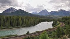 5 Best Train Trips in the World - Trans-Canada Railway through the Rocky Mountains