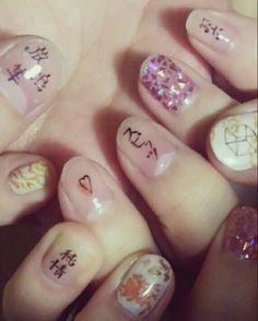 スピッツ痛ネイル #ネイル #ネイルアート  #セルフネイル  #セルフネイル部  #nail #nails #nailart #nailstagram #naildesign   #beautiful  #fashion  #art #arts #paint #spitz #スピッツ #純情隼