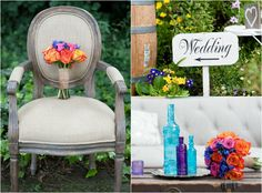 Bright & Bold Wedding Colors