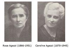 Rosa and Carolina Agazzi