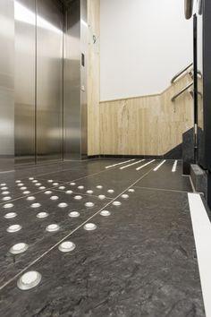 Dronning Maudsgate 11, Oslo - Respo Terazzo Oslo, Terrazzo, Tile Floor, Sidewalk, Flooring, Travertine, Marble, Side Walkway, Tile Flooring