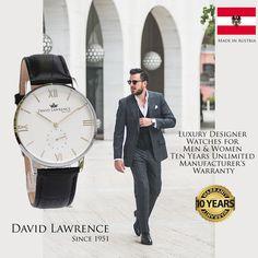 Mens Designer Watches, Affordable Watches, Luxury Designer, Austria, Watches For Men, David, Women, Brand Watches For Men, Gents Watches