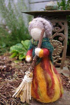 Old woman Autumn