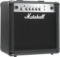 Marshall MG15CF 15W 1x8 Guitar Combo.  Sebuah gitar amplifier yang ideal untuk latihan dengan tonal analog dan efek digital yang solid.. Amplifier Marshall MG15CF Combo adalah amplifiier yang  ideal untuk berlatih dan bahkan bermain dalam format band kecil. Dilengkapi serat karbon tebal, efek digital yang solid dan telah diakui kehebatannya, dengan jantung tonal analog MG