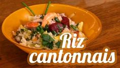 riz cantonais en vidéo