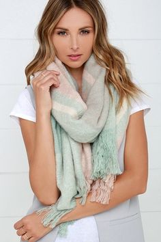Jesus Is My Anchor Winter Scarf Fashion Formal Soft Scarves For Men And Women