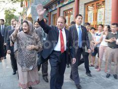 PM Nawaz Sharif arrives for 5-day visit to China. http://www.demotix.com/news/2220044/pm-nawaz-sharif-arrives-5-day-visit-china#media-2220031