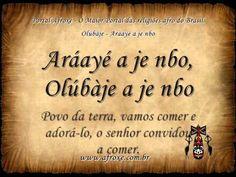 Olúbàje - Aráayé a je nbo