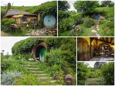 visit hobbiton new zealand, did this on my trip to NZ and it was the best thing ever