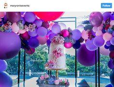 Ideia com balões - Arcos desconstruídos 8
