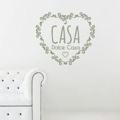 A shabby chic style decoration for your walls! Vintage wallsticker to love your house!