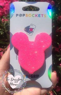 Cell Phone Grip, Phone Grip And Stand, Disney Couture Jewelry, Zendaya, Cute Popsockets, Pop Sockets Iphone, Glitter Balloons, Disney Souvenirs, Aesthetic Phone Case