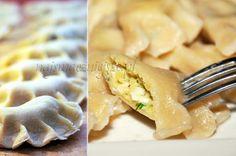Kartofliki tatarskie, pierogi, pierogi z farszem ziemniaczanym, dumplings,
