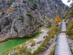 Insider tip in Lower Austria – Ötscher Tormäuer Nature Park Austria, Hinata, Golf Courses, Sidewalk, Camping, Places, Water, Outdoor, Wanderlust