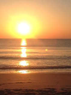 Melbourne, Fla: It seems cruel and unusual to travel to the beautiful beaches of Melbourne and then have to sit in meetings all day. There's something about starting the day watching the sun rise over the breaking waves, though, that makes the meetings more bearable. (Project managers' conference, May 2014)