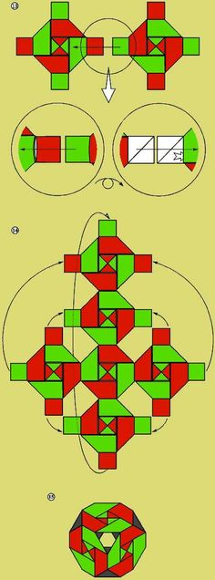 Кубик без углов. Как делать оригами из бумаги