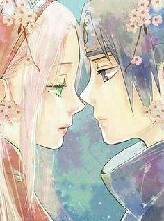 Sakura and Sasuke Anime Naruto, Naruto Art, Naruto And Sasuke, Naruto Shippuden Anime, Kakashi, Narusaku, Sasunaru, Boruto, Sasuke Uchiha Sakura Haruno