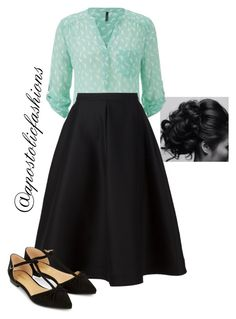 """Apostolic Fashions #1169"" by apostolicfashions on Polyvore featuring maurices, Vika Gazinskaya and Accessorize"