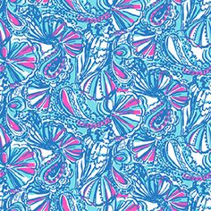 My Fans - lilly for target print