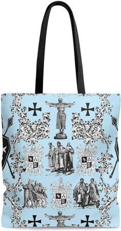 ab378f3e35 Sac cabas shopping motif Toile de Jouy bleu Médiéval #toile #de#jouy#feuille#fleur#blanc#design#style#sac#cabas#shopping#tissu#toiledejouy#simili#cuir#hand#  ...