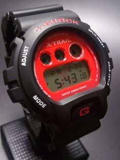 G-SHOCK x NISSAN X-TRAIL DW-6900FS 10TH ANNIVERSARY LIMITED EDITION #GSHOCK #Casual