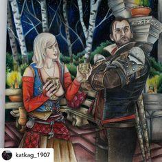 Friends Who Colour (@fwhocolour) • Instagram photos and videos World Of Warcraft, Princess Zelda, Photo And Video, Friends, Fictional Characters, Colour, Instagram, Videos, Photos