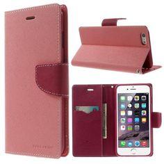 Köp Mercury Plånboksfodral Apple iPhone 6 Plus/6S Plus rosa online: http://www.phonelife.se/mercury-planboksfodral-apple-iphone-6-plus-rosa